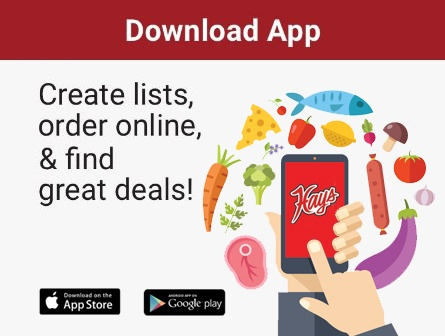 Download App - Create lists, order online, and find great deals!