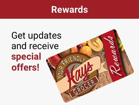 Rewards - Get updates and receive Special Offers!